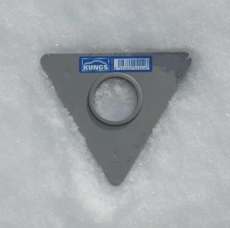 Trekantet plastskær til Kungs isskraber serie Vinterprodukter