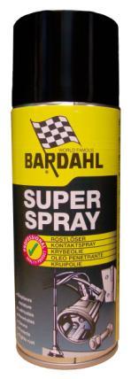 Bardahl Superspray - 400 ml. Olie & Kemi > Smøremidler