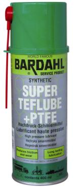 Bardahl Super teflube +PTFE - 400 ml. Olie & Kemi > Smøremidler