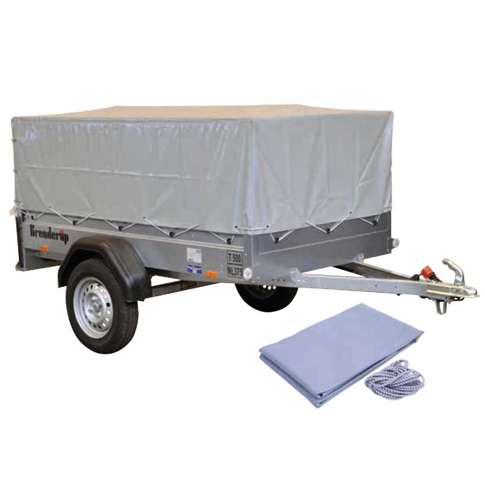 Presenning til Brenderup 1205S med netsider Bil & Trailer // Presenning & trailernet // Presenninger til Brenderup trailere
